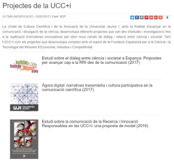 PROJECTES-UCC